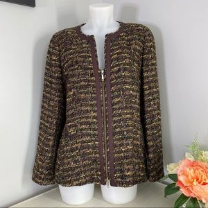 Lafayette 148 New York Woven Bouclé Jacket